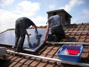 solar panel installation permission